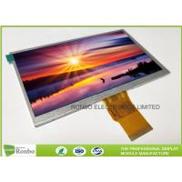"Best 7.0"" RGB Interface Lcd Display 800 X 480 , Wide View High Brightness LCD Module wholesale"