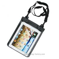 Transparent  universal PC Ipad waterproof pouch case with touch responsive front