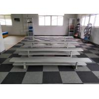 Best Aluminum Frame Temporary Grandstand Seating Easy Assembly With Stainless Bolts / Nuts wholesale