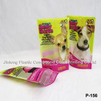 China Printed Stand Up Ziplock Plastic Zipper Bags, Dog Food Bags For Pet Food Packaging on sale