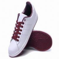 China Ladies' Skateboard Sports Shoes with PU Upper, Rubber Outsoles, Soft PU Lining OEM/ODM Are Available on sale