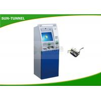 Free Standing Retail Mall Self Service Kiosk Barcode / Receipt / Coupon / QR Code Use