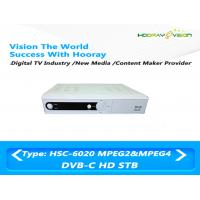 Buy cheap Digital H 264 Set Top Box DVB C Receive RF Signal 9M baud HD Symbol rate product