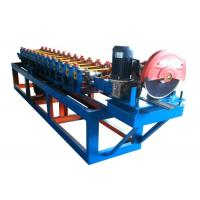 Best Metal Roller Shutter Forming Machine 15 Rows With Fly Saw , 50Hz Frequency wholesale