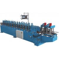 Best PLC Automatic Control Door Frame Roll Forming Machine With Hydraulic Cutter wholesale