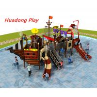 China Pirate Ship Style Water Slide And Interesting Outdoor Sports Equipment on sale