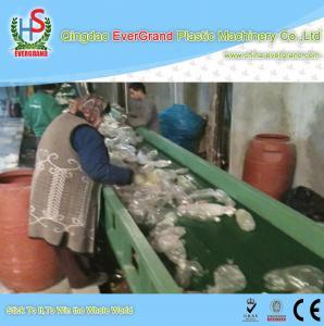 Best 10 - 18mm Particle Size PET Bottle Recycling Machine , 1000kg/h PET Bottle Crushing Machine wholesale