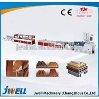 Best Jwell wood-plastic recycling extruder machine/extruder machinery manufacturer wholesale
