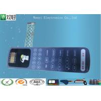 Buy cheap Nikto Backahesive Poly Dome Membrane Switch Keypad With ESD Shied Print from wholesalers