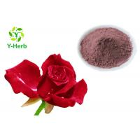 China Rose Petal Extract Natural Cosmetic Ingredients Rose Flower Powder For Skin Beauty on sale