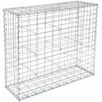 Best Integrity Structural Wire Gabion Basket Silver Color Decorative For House wholesale