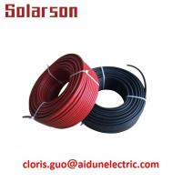 China 1500V DC Waterproof UV resistance XLPE Single Core Solar PV Cable 4mm for Solar System on sale