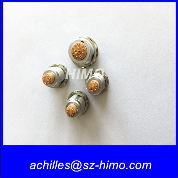 Cheap push-pull ip50 metal EGG ECG lemo female socket 6pin Circular connector for sale