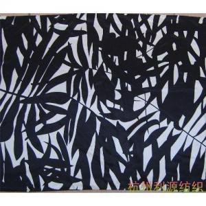 China Printed silk fabric on sale