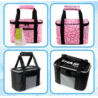 China colorfull prints picnic time lunch bag, picnic bag,cooler bag, keep cost hold hot bottle cooler bag and ice packs for br on sale