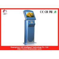 China Compact Stand Self Service Information Kiosk / Internet Kiosk Anti-vandal on sale