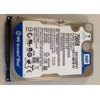 China 3 Gb/s 9.5 mm 5400 RPM 750 GB  WD7500BPVT SATA 2.5 Inch WD Blue Server Hard Disk Drive on sale