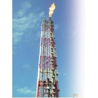 Combination Ground Elevated Flare System With Site Supervision Low Pressure Flare System