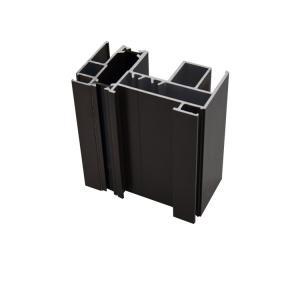 Best Powder Coating Extruded 0.7mm T8 Aluminium Alloy Door And Window wholesale
