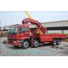 China SINOTRUK Truck Mounted Crane  16Ton /16000KG  Knuckle Truck Crane wholesale