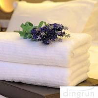 Best White Color Luxury Pure Cotton Bath Towels Home / Hotel Use Soft Touch Azo Free wholesale