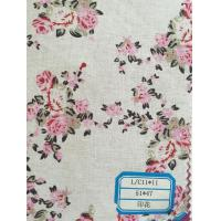 China Solid dyed/printed 55/45 Linen Cotton Blended Fabric(washing available) on sale