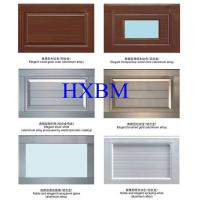 Best Residential Horizontal Aluminium Garage Doors With Automatic Safety Protection Device wholesale