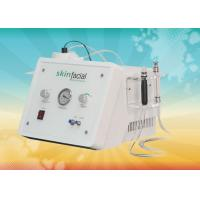 China Max Output 250VA Reduction oily / dehydrated Skin Diamond Microdermabrasion Machine on sale