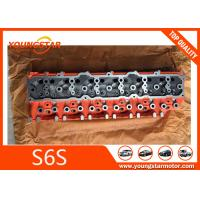 Best Mitsubishi Forklift Engine Parts Cylinder Head For S6S 32B01-01011 32B0101011 wholesale