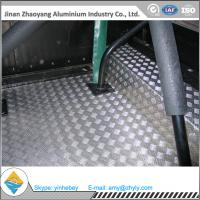 Best 2.5mm Aluminium Alloy Sheet Aluminum Stair Checker Plate 5 Bars 3003 H14 / H24 wholesale