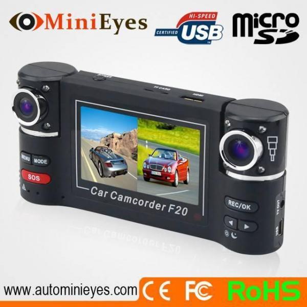 Cheap Dual Lens dvr CL-F20- Car black box ,Car mobile DVR, Full/HD DVR, Spy camera, Mini DVR for sale