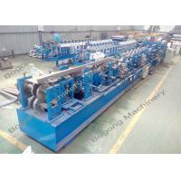 Best Auto Change Size Cz Purlin Machine Quick Punching Unit For Galvanized Steel Sheet wholesale