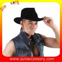 Best 2050374 Sun Accessory customized  winter wool felt fashion style cowboy  hats  ,unisex hats and caps wholesaling wholesale
