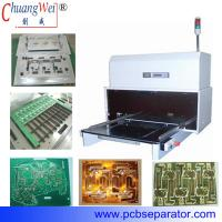 Buy cheap Cutting Blade Automatic Curved FPC / PCB depaneling Machine CWPL product