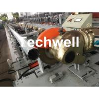 Best 0.4-1.2mm Octagonal Tube Pipe Roll Forming Machine Equipment With Guiding Column And Slide Blocks Forming Structure wholesale