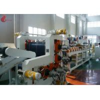 Buy cheap 720 mm width Five Rollers PVC Calender Machine With PLC control touch screen product