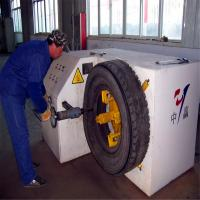 China Truck waste tyre cutting machine/used tyre sidewall cutter/scrap tyre cutter on sale