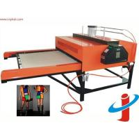China Automatic double stations sublimation heat transfer printing machine on sale