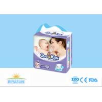 China Sleepy Printed Disposable Baby Diapers Breathable Non Woven Fabric Material on sale