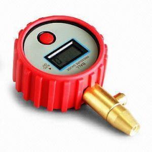 Ball Pressure Gauge with 15psi/1 bar/100kPa Pressure Range