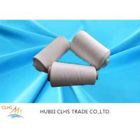 Best High Strength Polyester Spun Raw White Yarn 20s Count Anti - Pilling For Sewing Sofa wholesale