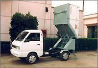 auto-discharge waste car