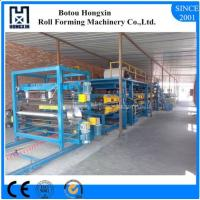 Best Aluminium Plate Sandwich Panel Production Line For Roofing 70mm Dia Roller wholesale