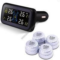 Car TPMS Pressure Monitoring System with Replaceable battery Internal Sensors