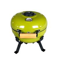 China 3-5 People Table Top Bbq Kamado Grill With Porcelain Enameled Finished on sale