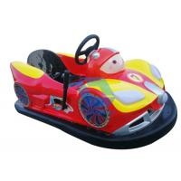 Best Attractive Battery Powered Bumper Cars Ride , Customized Amusement Bumper Cars wholesale