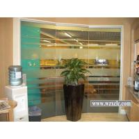 Best Sheets Of Toughened Modular Office Partitions Support Sound Privacy , Double Glass wholesale