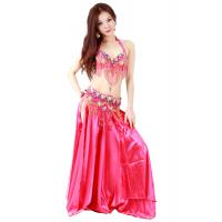 Best Sexy gorgeous professional belly dancing costumes with beaded fringes OEM wholesale