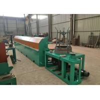 Best High Carbon Steel Fine Wire Drawing Machine , 380 V 11KW Automatic Wire Drawing Machine wholesale