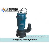 Best 1 Hp Electric Sewage Water Pump 750 For Civil Engineering Construction wholesale